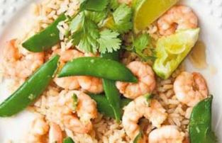 How to make Prawns With Green Chilies Learn In English 2020