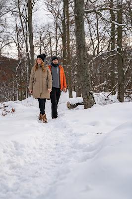 Winterwandern in Bad Harzburg | Kleiner und Großer Burgberg und Besinnungsweg | Baumschwebebahn | Wandern im Harz 05