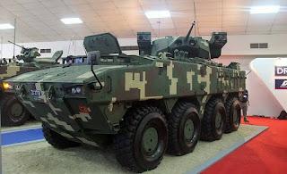 Kendaraan Amfibi AV-8 Gempita 8x8