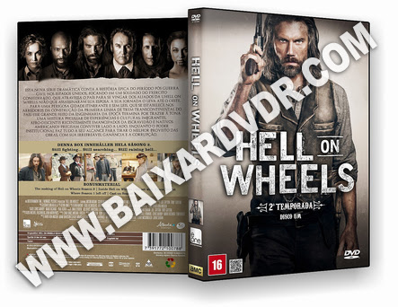 Hell on Wheels – 2ª Temporada (2012) DVD-R OFICIAL