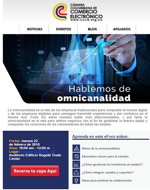 CONFERENCIA HABLEMOS DE OMNICANALIDAD EN LAS EMPRESAS  Entrada gratuita cupos limitados