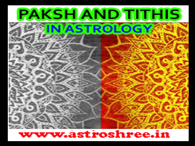 about paksh and tithi in vedic astrology