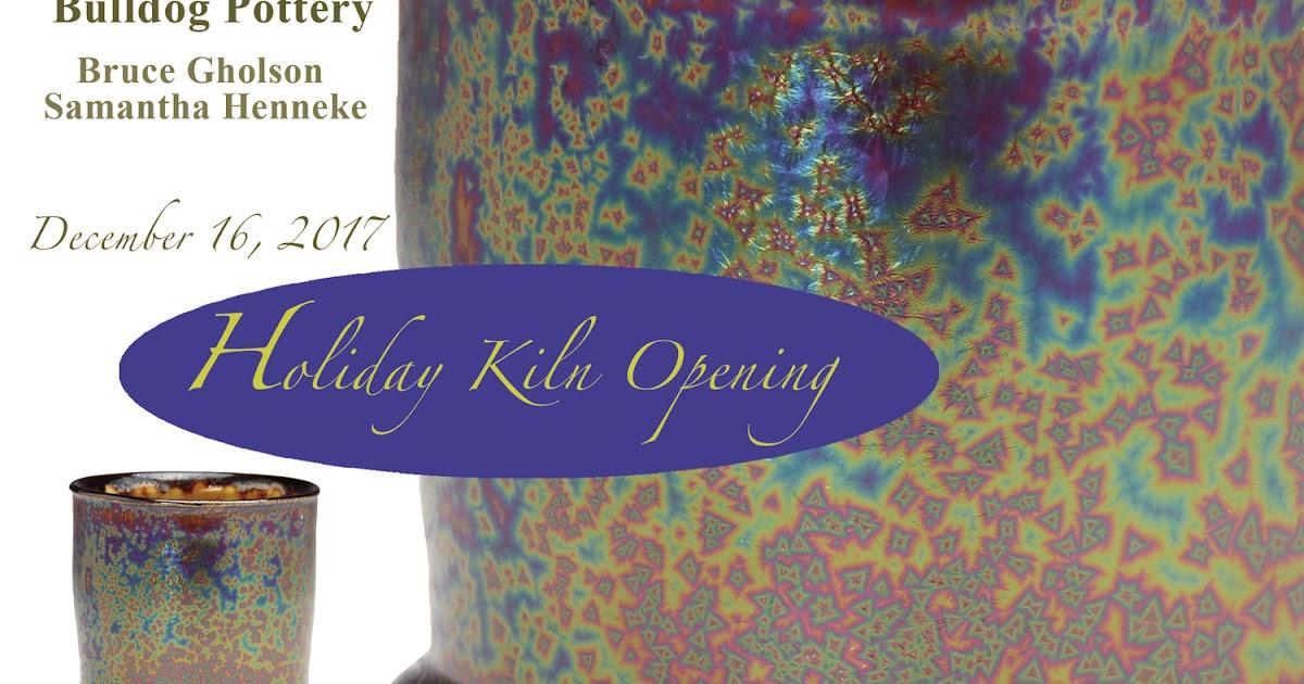 Holiday Kiln Opening - December 16, 2017