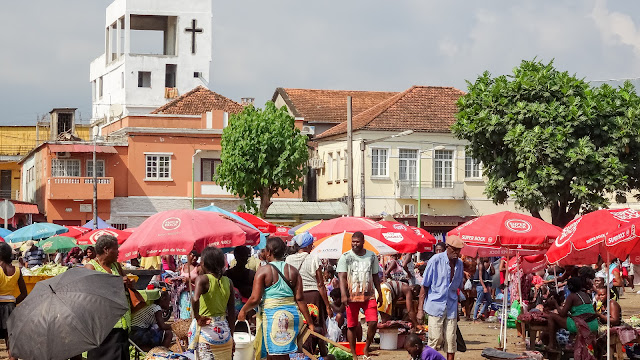 Mercado Municipal in Sao Tome