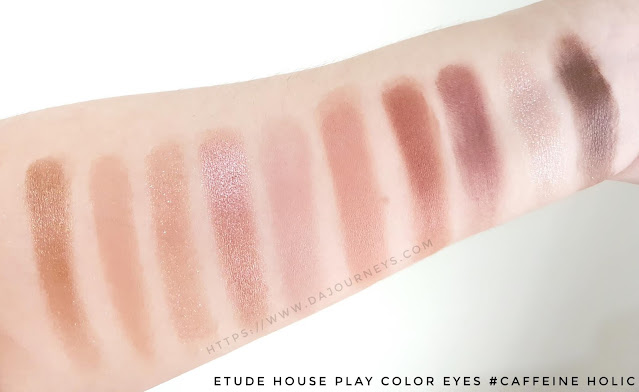 Review Etude House Play Color Eyes Palette Caffeine Holic