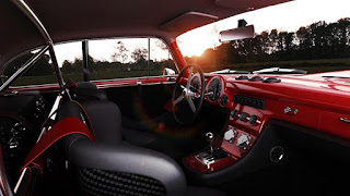 1952 Ferrari 340 Racing Car Cabin Picture