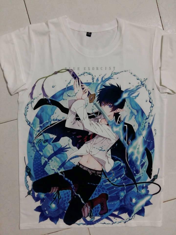 Mẫu áo thun in Anime đẹp - Hình 6
