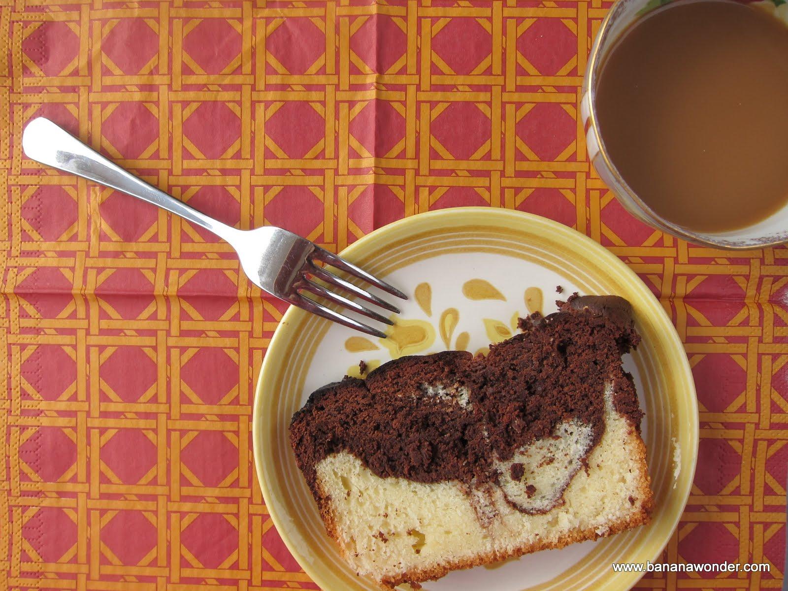 Bisquick Marble Pound Cake