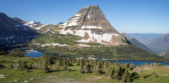 Hidden Lake Overlook in Glacier National Park