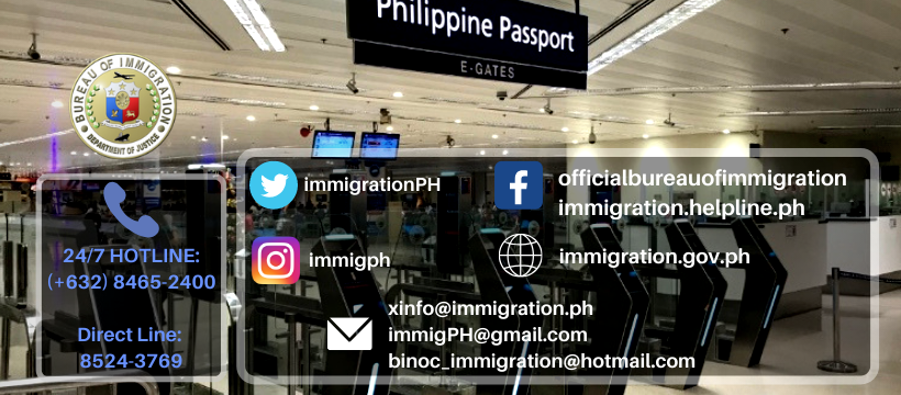 Bureau of Immigration Philippines Contact Details