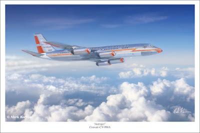 Astrojet Convair 990