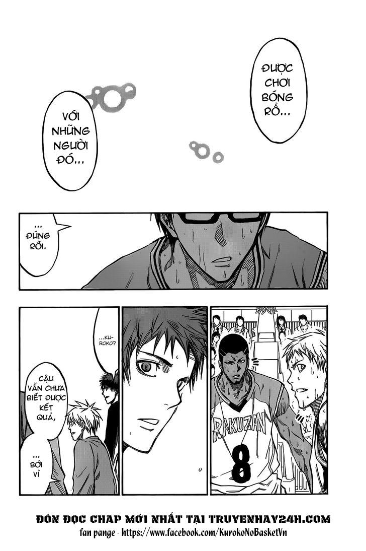 Kuroko No Basket chap 179 trang 17