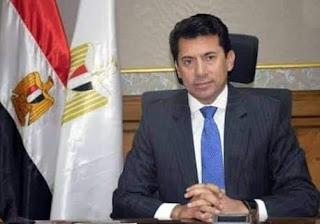 وزير الرياضة يهنئ الأهلي بالفوز على الوداد المغربي