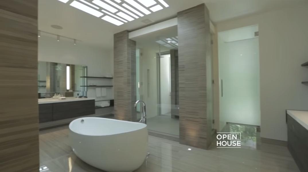87 Interior Photos vs. Tour 1307 Sierra Alta Way, Los Angeles, CA Ultra Luxury Modern Mansion