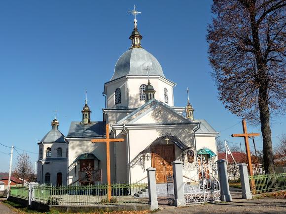 Болехів, Україна. Церква святої Параскеви