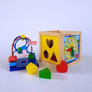 Kotak Multifungsi Mainan Kayuku Agdia