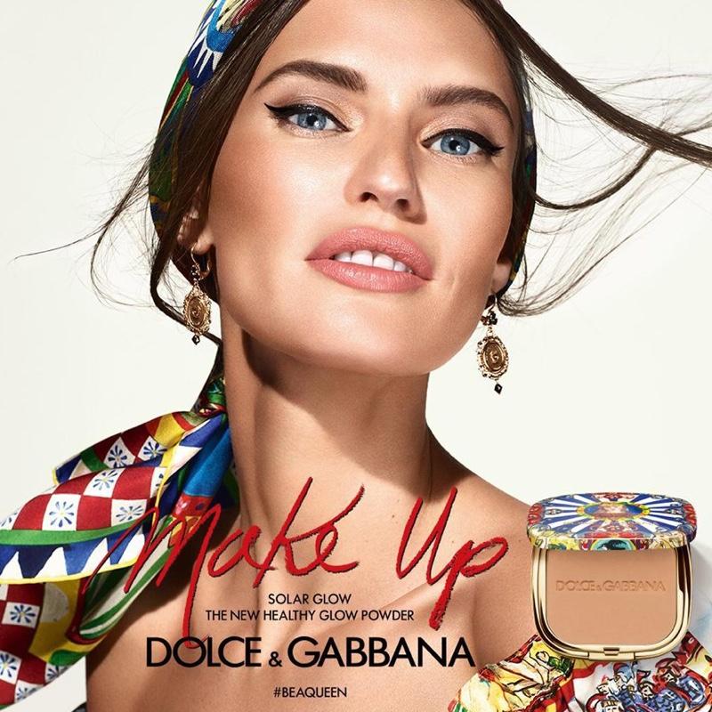 Bianca Balti stars in Dolce & Gabbana #BeAQueen Makeup campaign