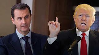 بومبيو يكشف عن رسالة وجهها ترامب لبشار الأسد