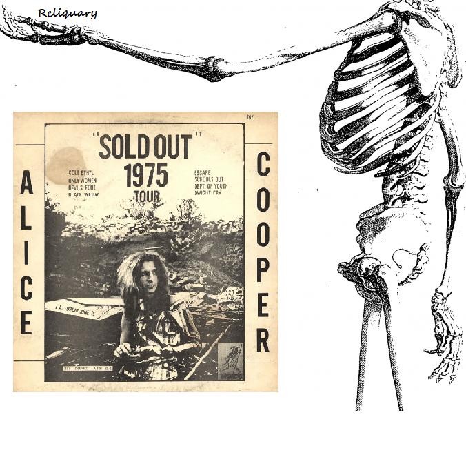 RELIQUARY: Alice Cooper - Sold Out 1975 (Wizardo Records WRMB) [SBD]