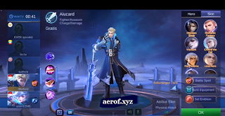 Download Script Skin Claude Starlight Full Effect Mobile Legends Patch Terbaru