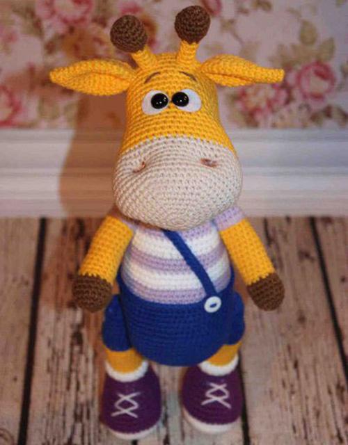 Tutorial Giraffe Amigurumi : Crochet For Children: Naughty Giraffe - Free Amigurumi Pattern