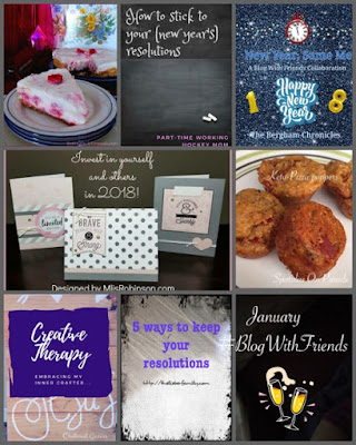 Blog With Friends, a multi-blogger project based post incorporating the theme Resolutions | Featured on www.BakingInATornado.com