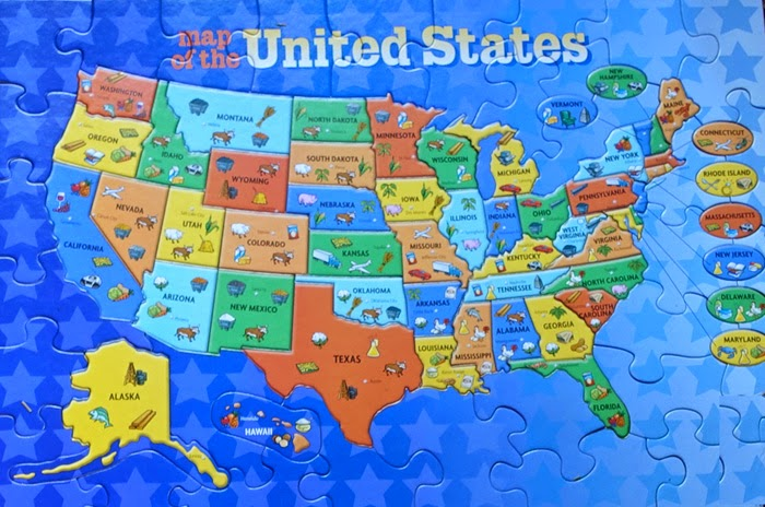 The Fifty States Map.The Intrepid Tourist 50 States Celebrating The Fourth Anniversary