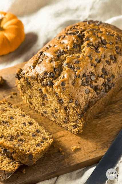 Low Carb Keto Pumpkin Bread