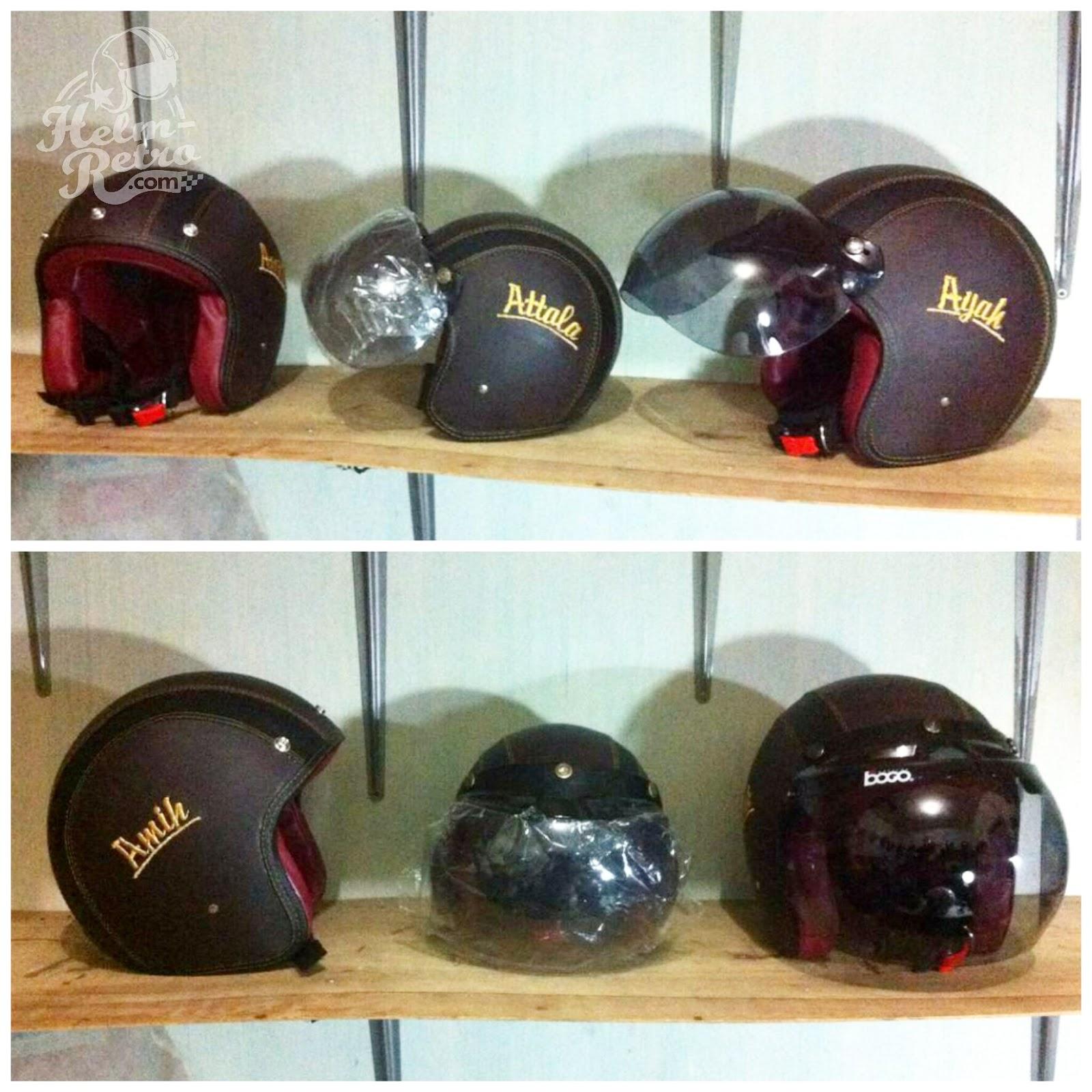 Helm Retro  Helm Retro Pilot  Helm Retro Bogo Helm Bogo
