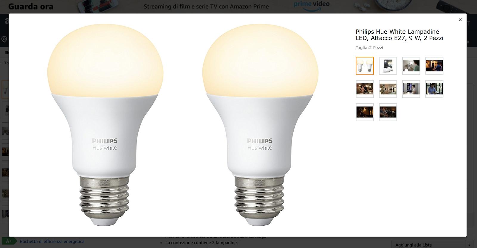 Quanto consumano le lampadine Hue