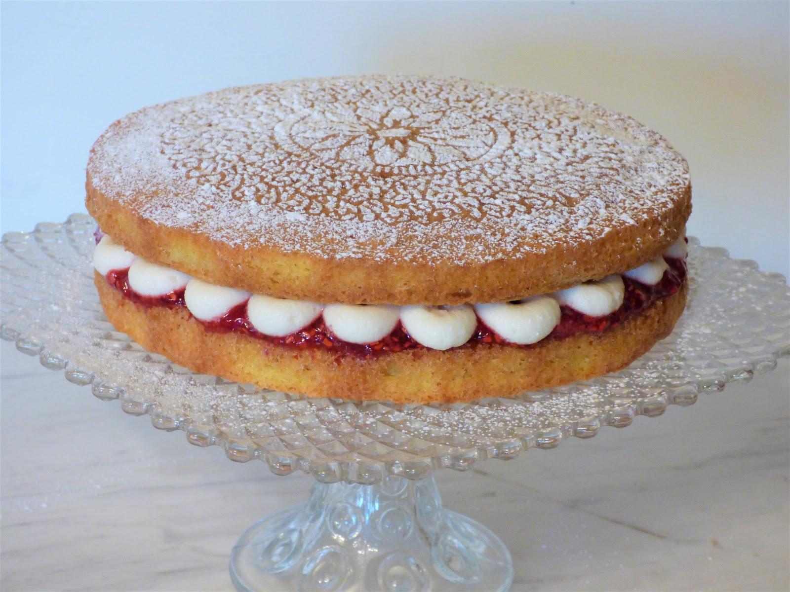 Victoria Sandwich Sponge Cake Mary Berry S British Baking Show Recipe