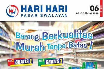Katalog Hari Hari Pasar Swalayan Promo Terbaru 21 Maret - 3 April 2019