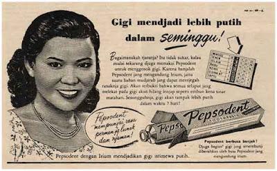 iklan pepsodent jaman dulu