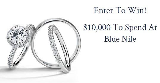 Blue Nile $10,000 Sweepstakes
