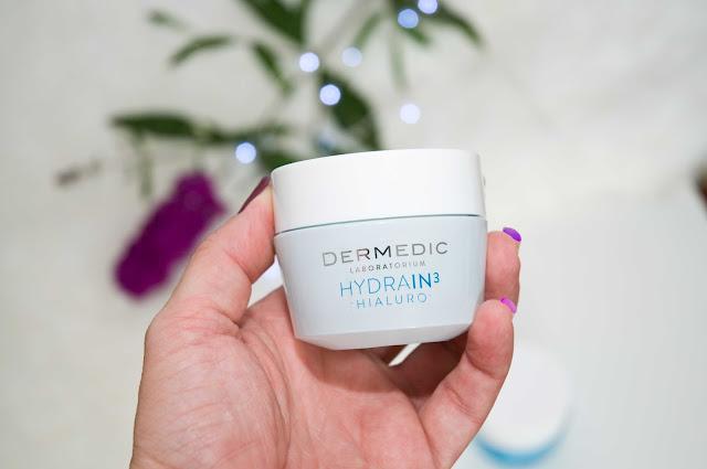 Dermedic Hydrain3 Hialuro - krem - żel ultranawilżający