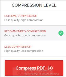 kualitas hasil compress file pdf