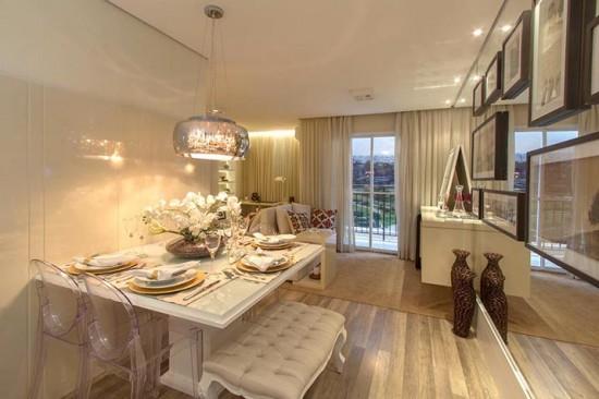 Construindo minha casa clean apartamentos 5 dicas de for Living pequenos