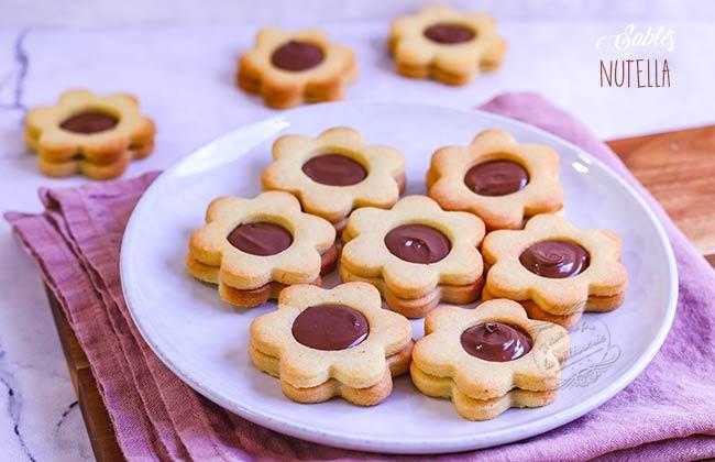 recette biscuits nutella