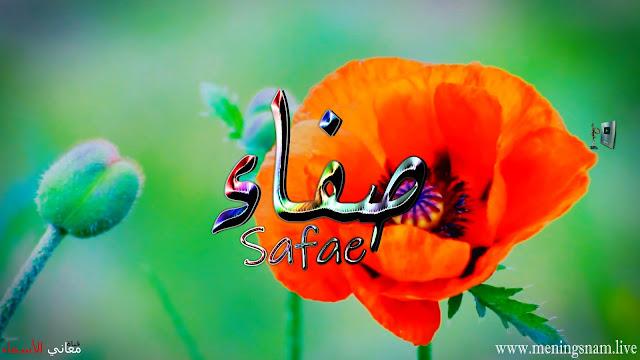 معنى اسم صفاء وصفات حاملة هذا الاسم Safae