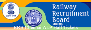 RRB Chennai ALP Hall Tickets 2016-217