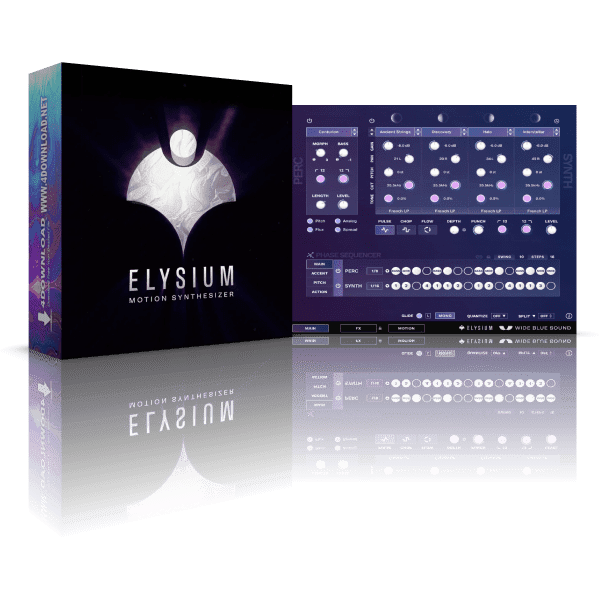 Wide Blue Sound Elysium KONTAKT Library