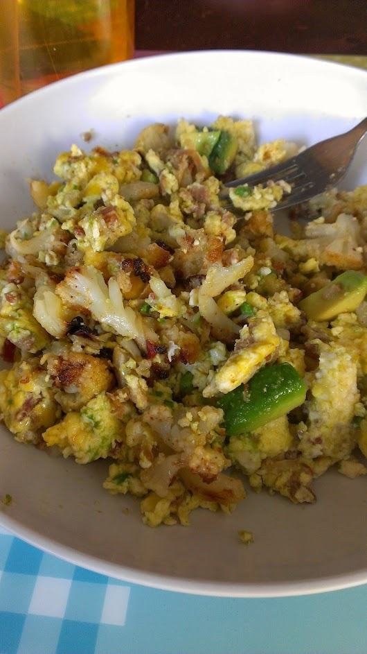 Tasty and Healthy Scrambled Eggs