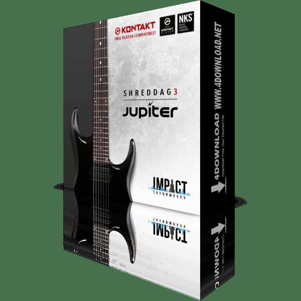 Download Shreddage 3 Jupiter KONTAKT Library
