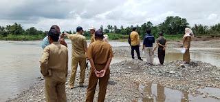 Tim Provinsi Sulsel Turun Pantau Pengerjaan Reklamasi di Sungai Bila Sidrap