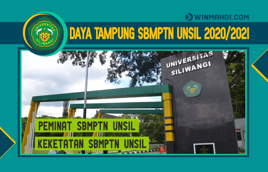 DAYA TAMPUNG SBMPTN UNSIL 2020-2021