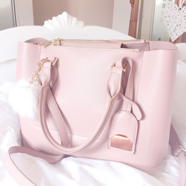 Love, Catherine | Zara Pink City Bag