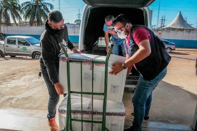 Boletim Covid : Rondônia recebe 20 mil doses da vacina AstraZeneca