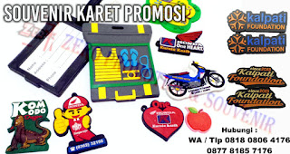 Souvenir Karet Promosi - rubber souvenir, Gelang Karet | Gantungan Kunci Karet