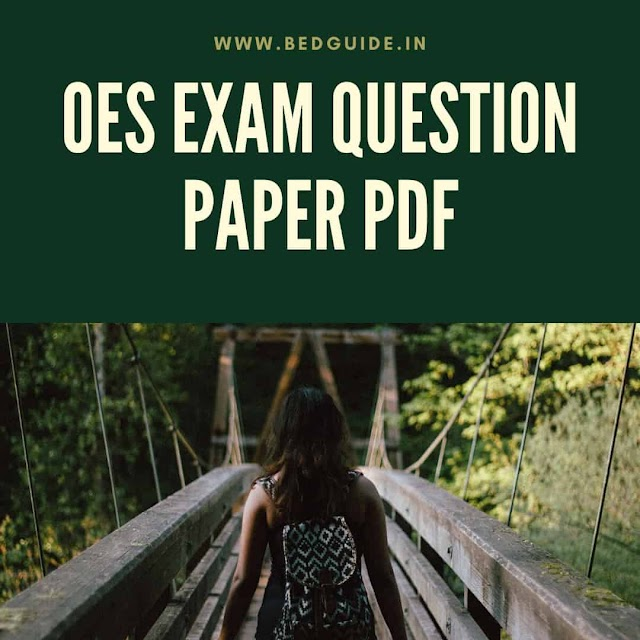 OES Previous Year Questions Paper PDF Download