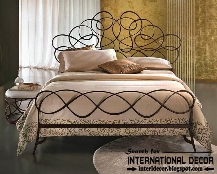 Fashionable Italian wrought iron beds and headboards 2015 ...